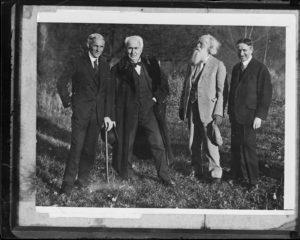 Henry Ford : Thomas Edison : John Burroughs : Harvey Firestone - Yama Farms Inn, Napanoch, N.Y